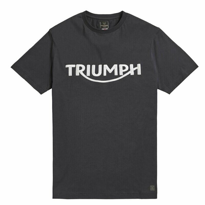 Triumph Bamburgh Jet Black Tee