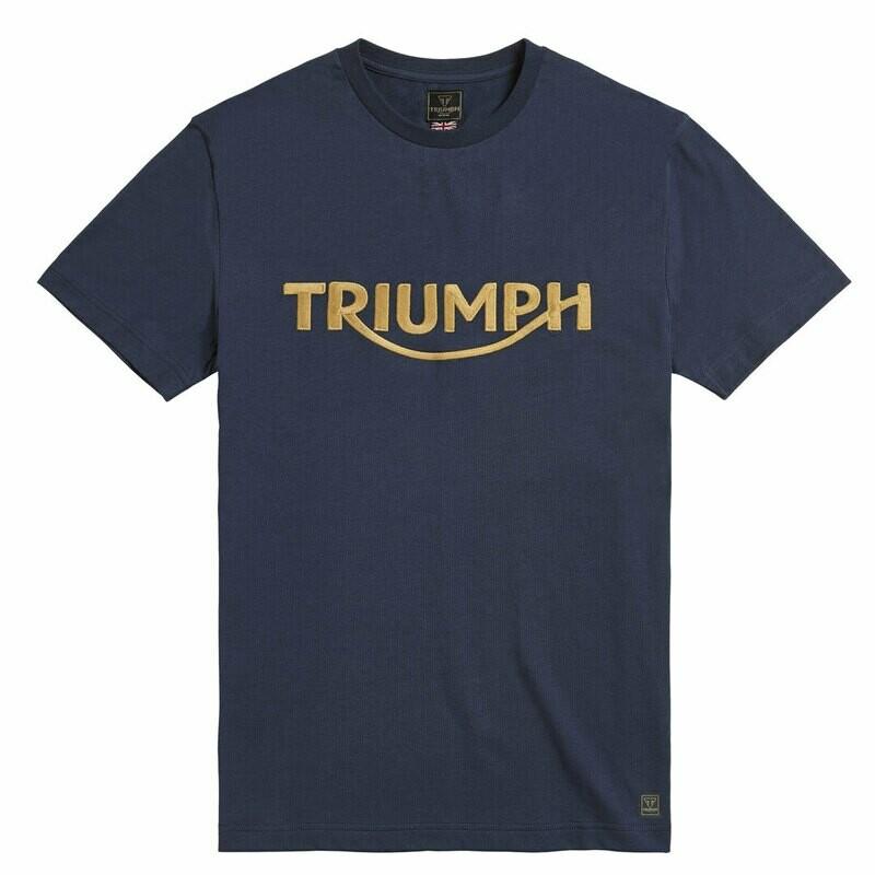 Triumph Bamburgh Black Iris Tee