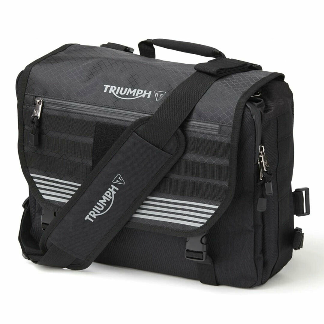 Triumph Air-Mesh Messenger Laptop Bag