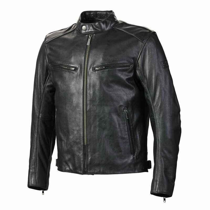 Triumph Copley Leather Motorcycle Jacket