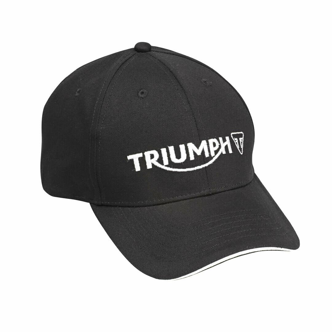 Triumph Motorcycles Black Logo Hat
