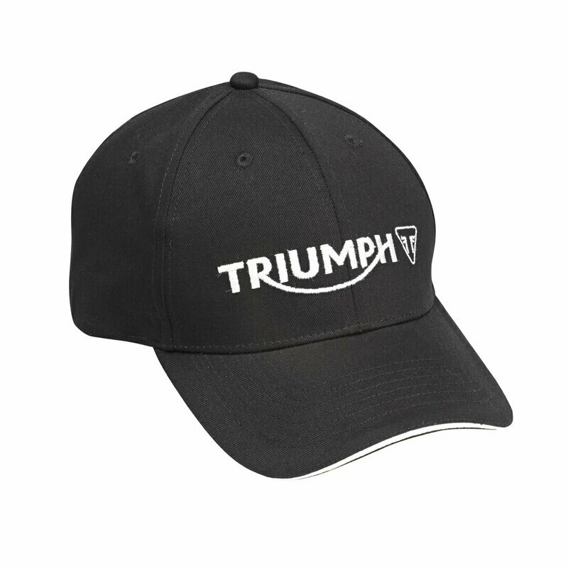 Triumph Motorcycles Black Logo Hat