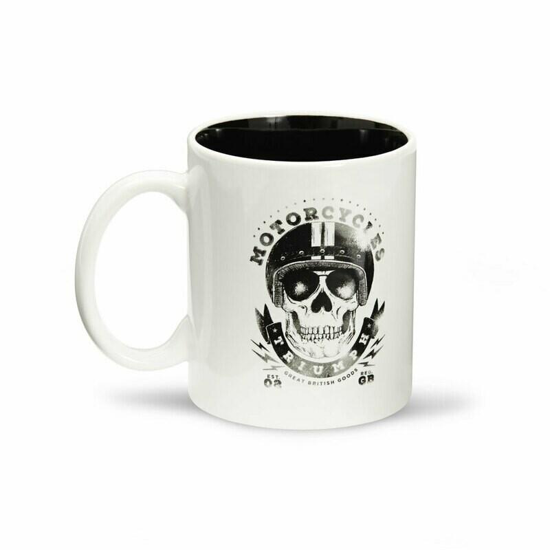 Triumph Skull Coffee Mug