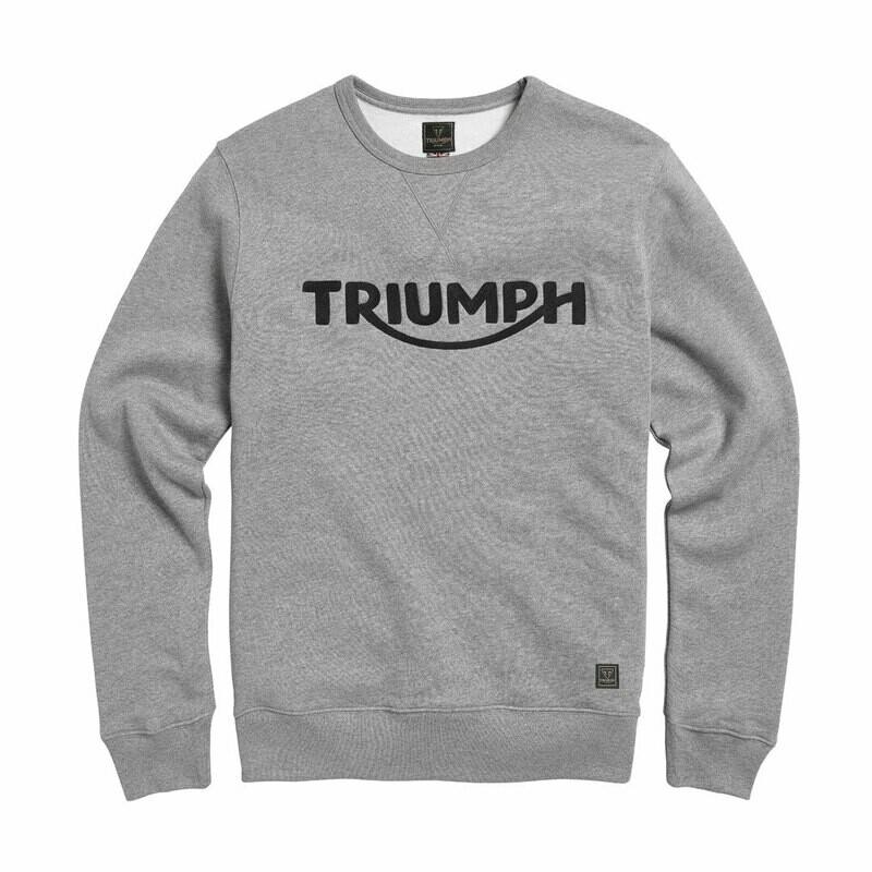 Triumph Blackawton Gray Crewneck Sweatshirt