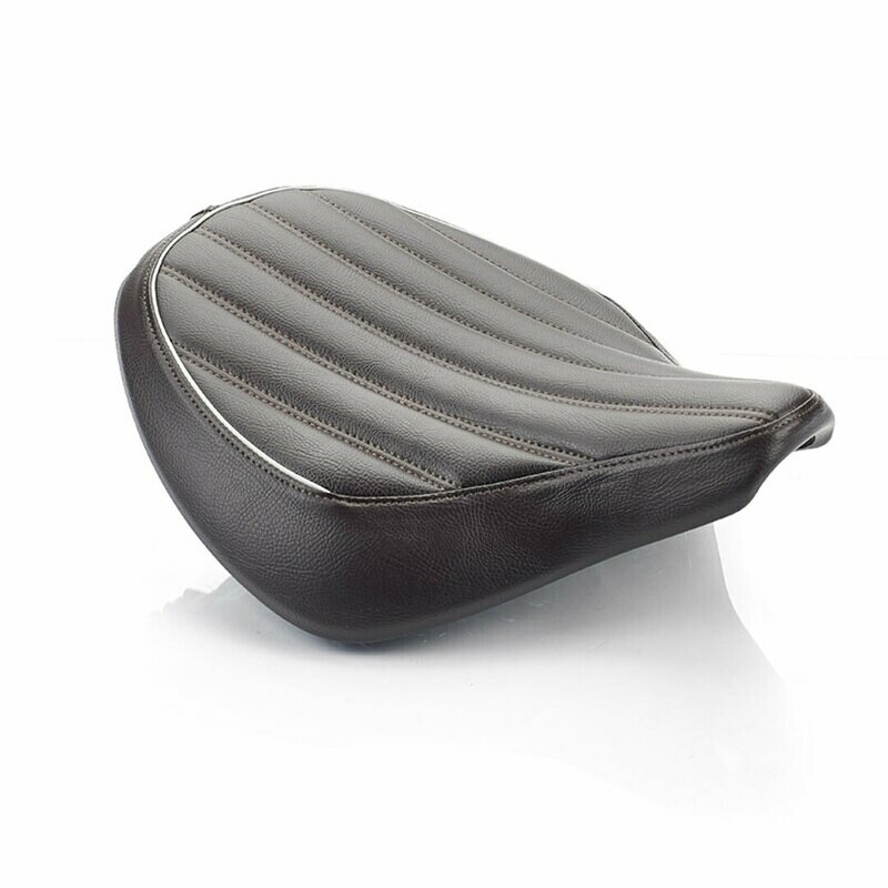 Triumph Bobber Brown Ribbed Comfort Seat