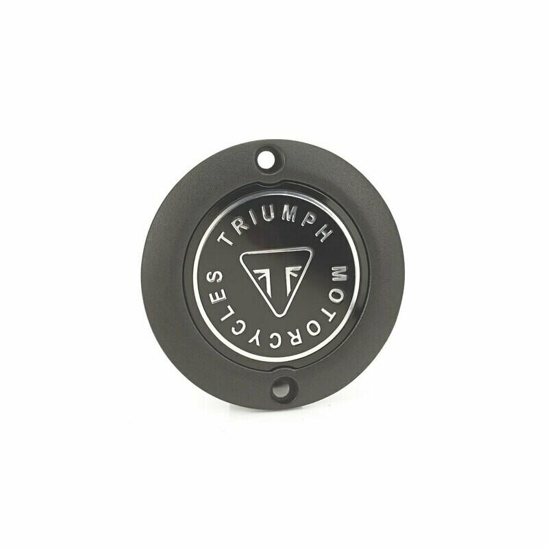 Triumph Black Badge Clutch Cover