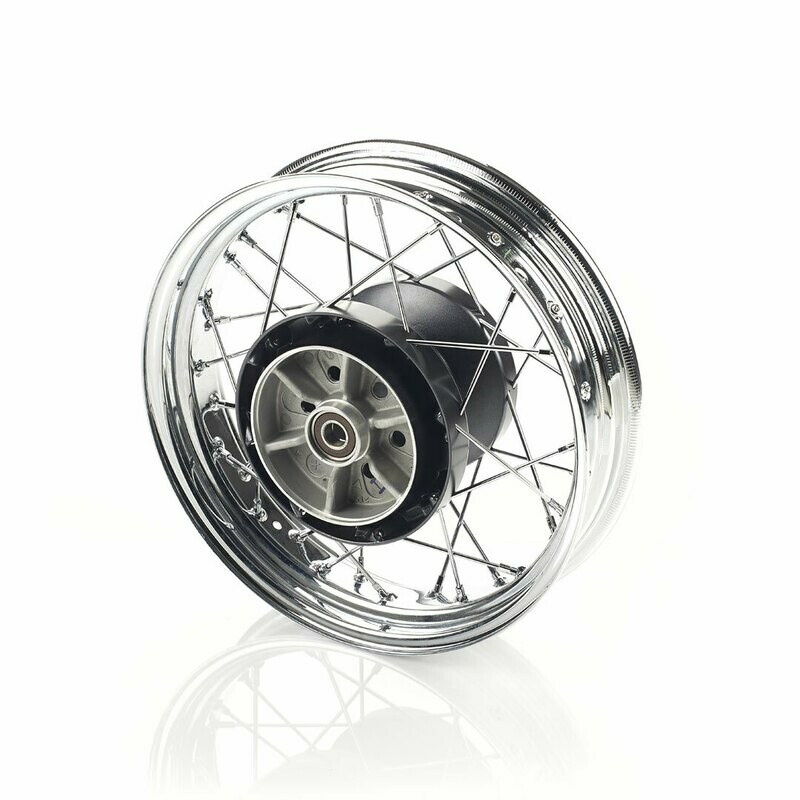 Triumph Bobber Chrome Rear Wheel Kit