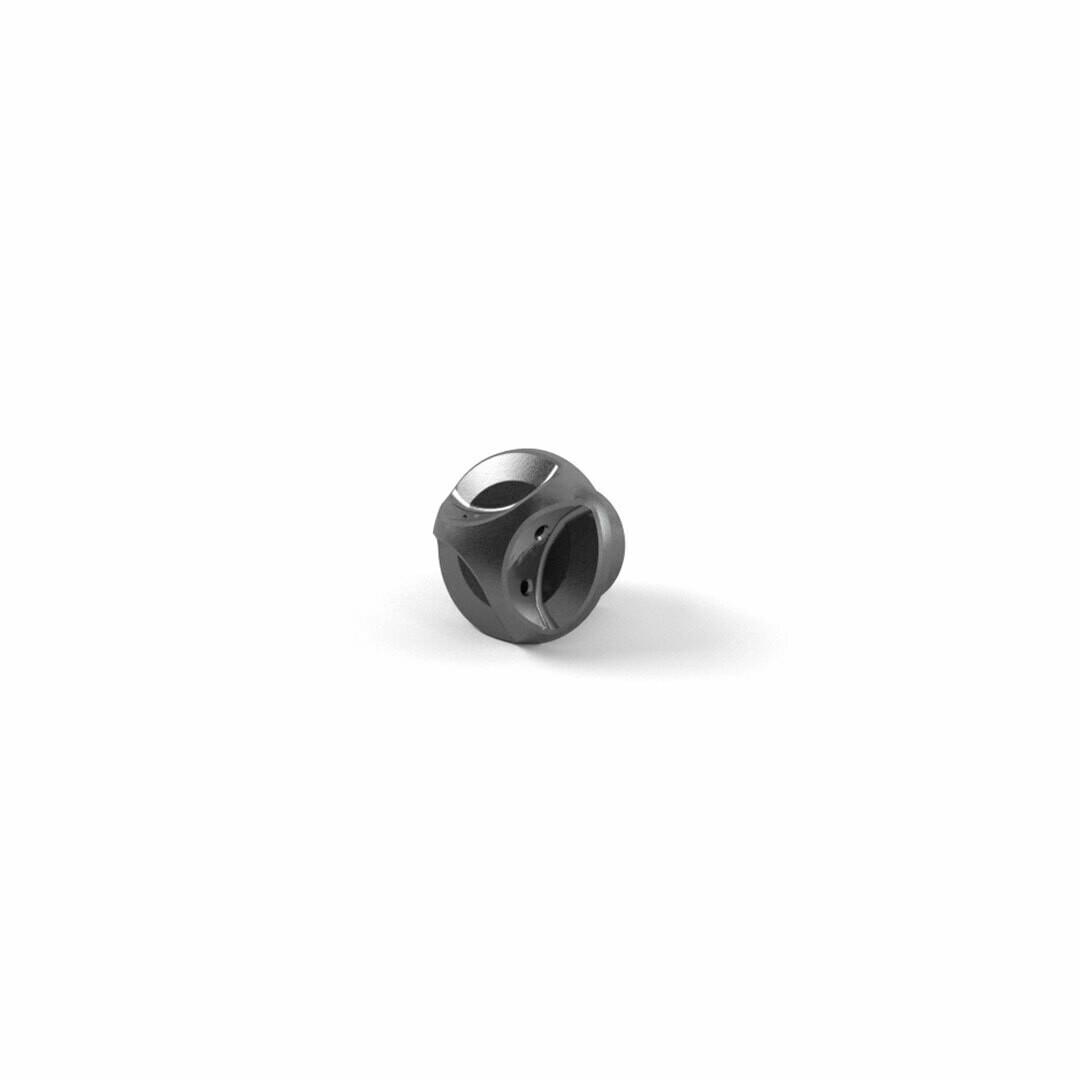 Triumph CNC Machined Black Oil Filler Cap