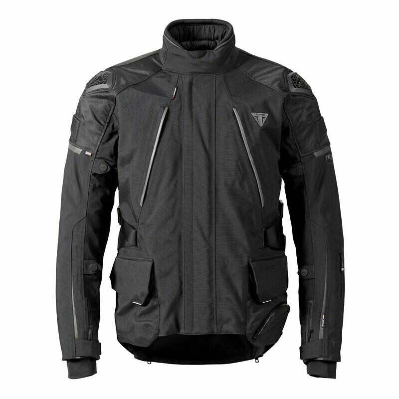 Triumph Alder Gore-Tex Adventure Tourer Black Jacket