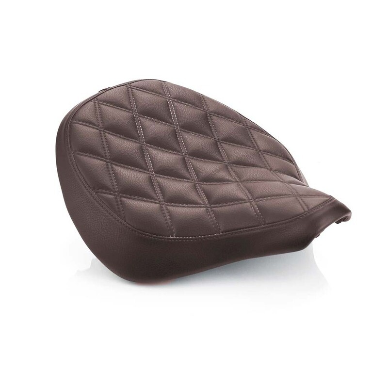 Triumph Bobber Brown Quilted Seat