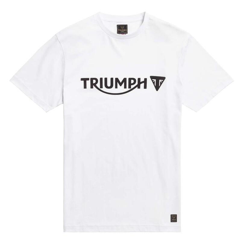 Triumph Cartmel White Classic Tee