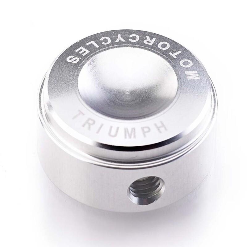 Triumph Silver Billet Head Bolt Covers