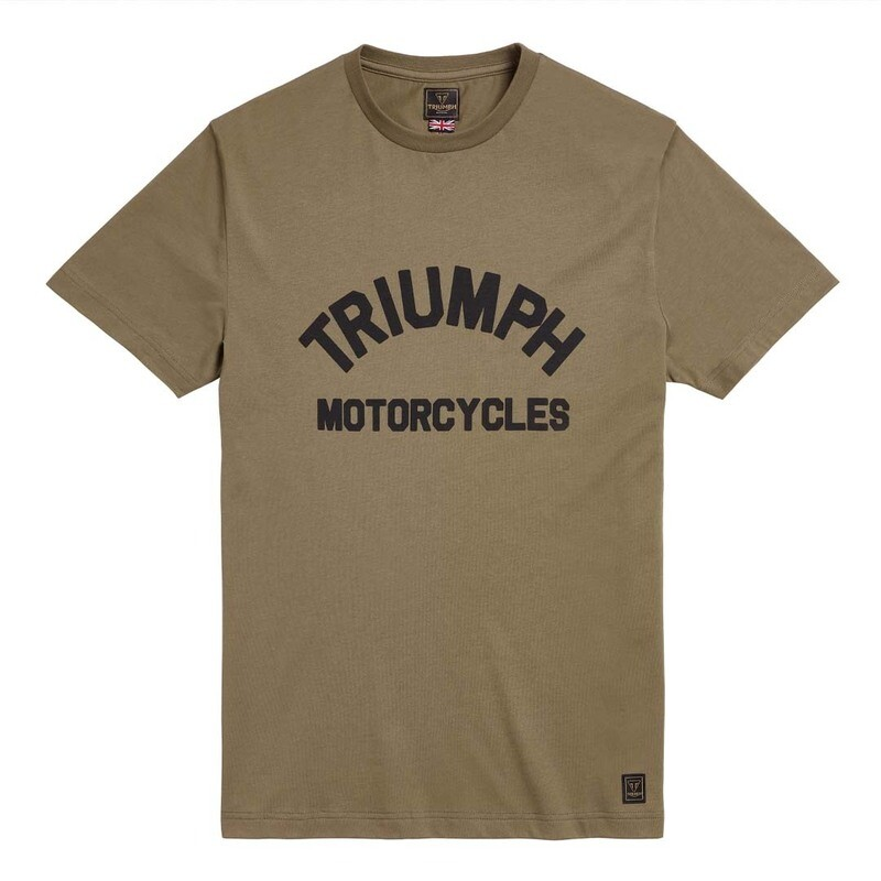 Triumph Burnham Khaki Tee