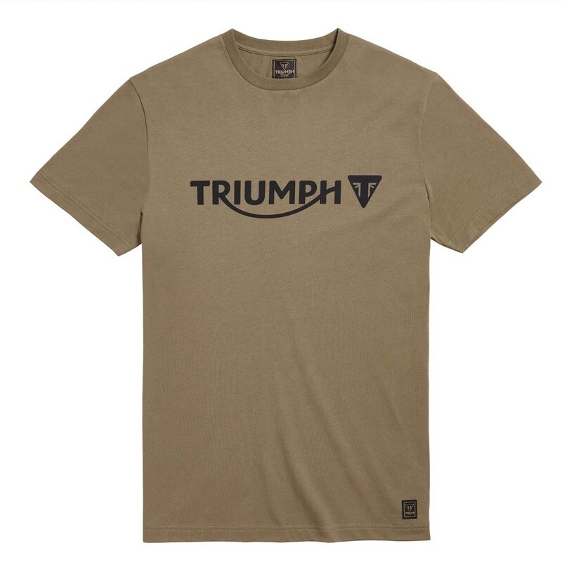 Triumph Cartmel Khaki Classic Tee