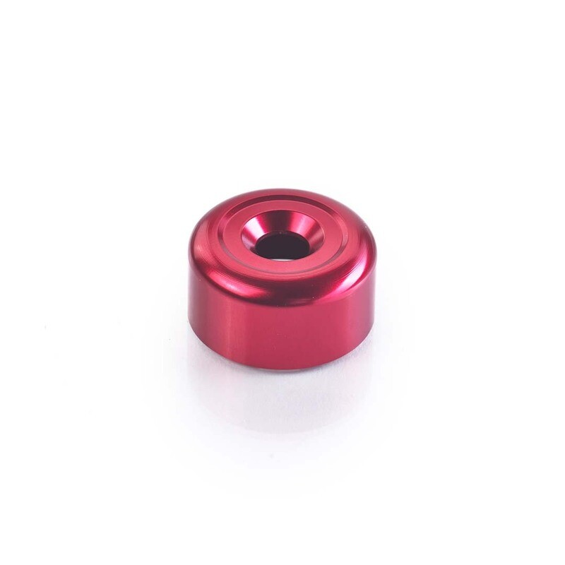 Triumph Red Bar End Finisher