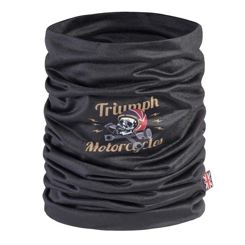 Triumph Woodford Skull Neck Tube