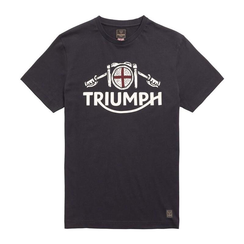Triumph Hale Cafe Black Tee