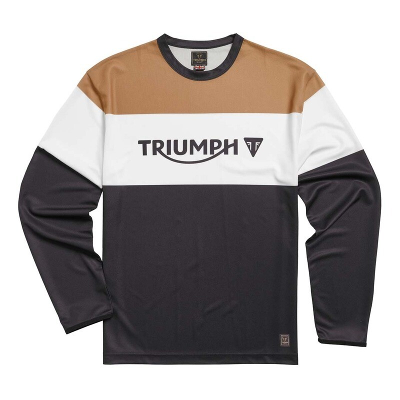 Triumph Adventure Long Sleeve Crew Tee
