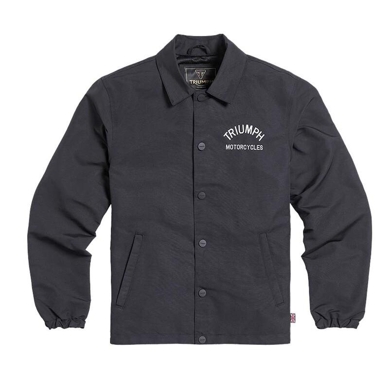 Triumph Carter Coach Black Softshell Jacket