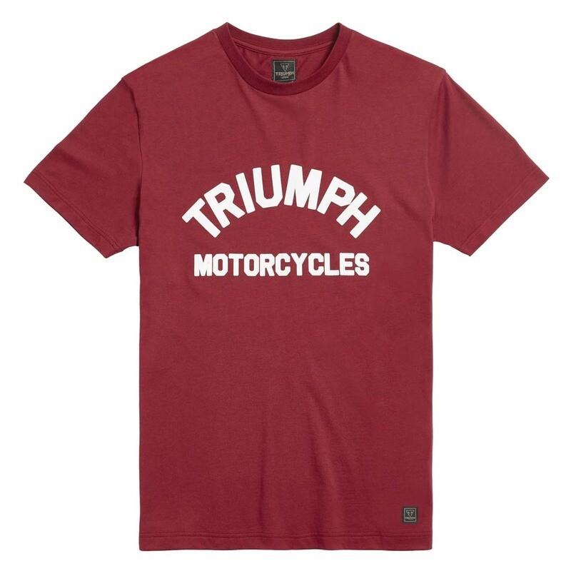 Triumph Burnham Syrah Arch Logo Tee