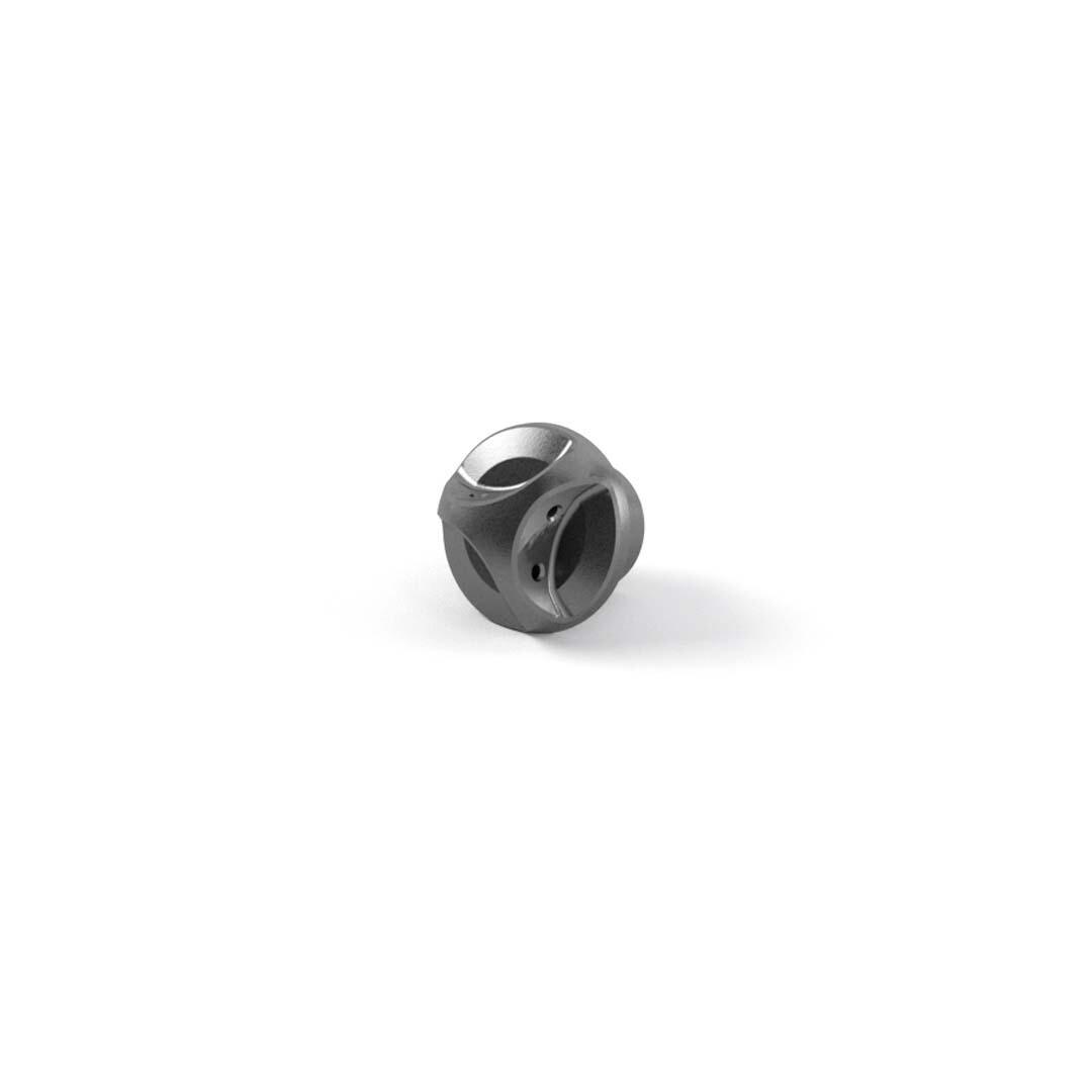 Triumph CNC Machined Gray Oil Filler Cap