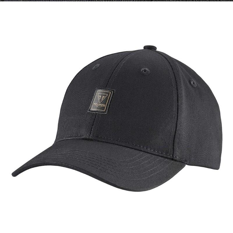 Triumph Charles Badge Black Hat