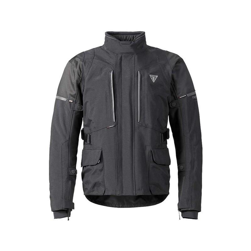 Triumph Leith Adventure Tourer Black Motorcycle Jacket