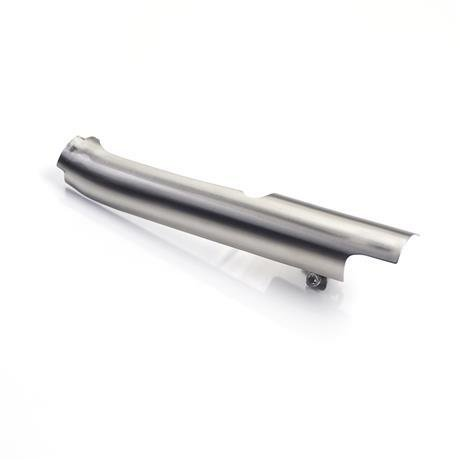 Triumph Brushed Left Catalytic Converter Cover