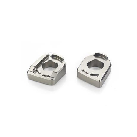 Triumph Billet Machined Gray Chain Adjuster Kit