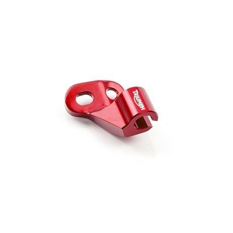 Triumph Tiger 800 CNC Machined Red Clutch Cable Guide