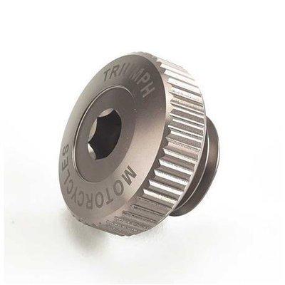 Triumph Gunmetal Billet Oil Filler Cap