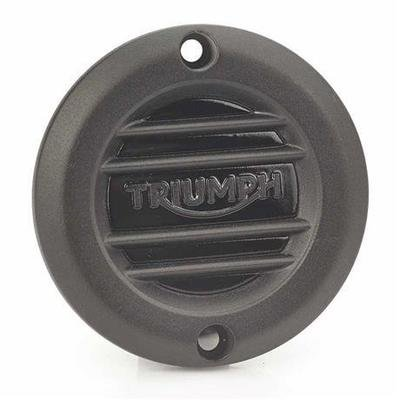 BLACK RIBBED CLUTCH COVER
