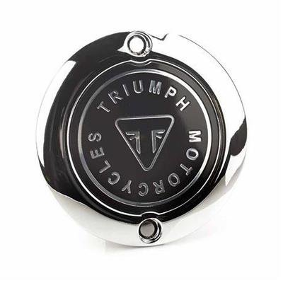 Chrome Badge Clutch Cover