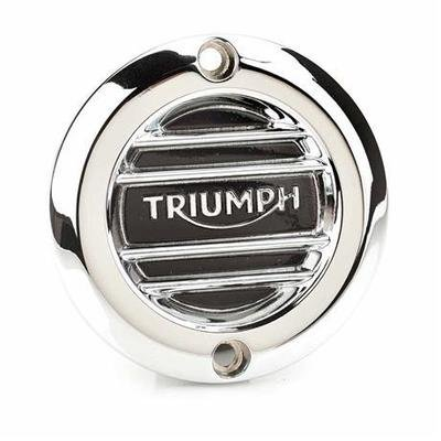 RIBBED CHROME INSPECTION COVER