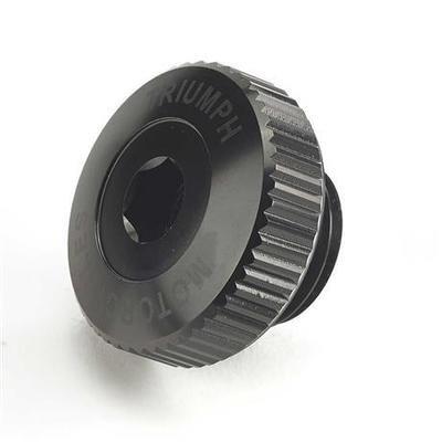 Triumph Black Billet Oil Filler Cap