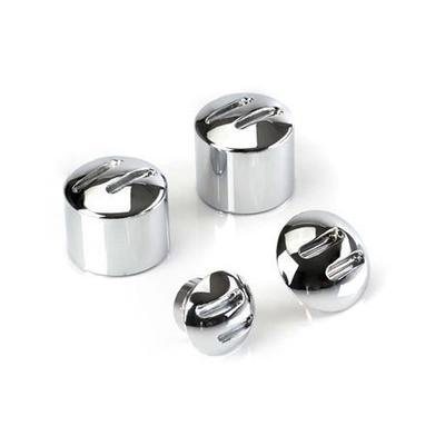 Chrome Axle Nut Covers