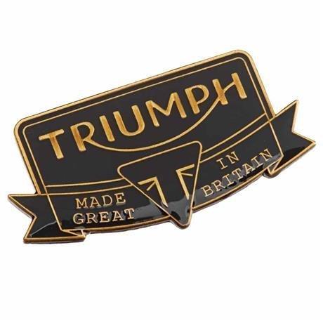 Triumph Heritage Pin Badge