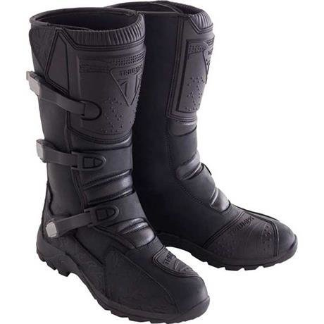 Triumph Black Adventure Dirt Boots