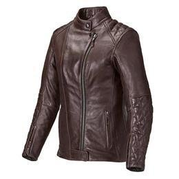 Triumph Women's Andorra Leather Motorcycle Jacket