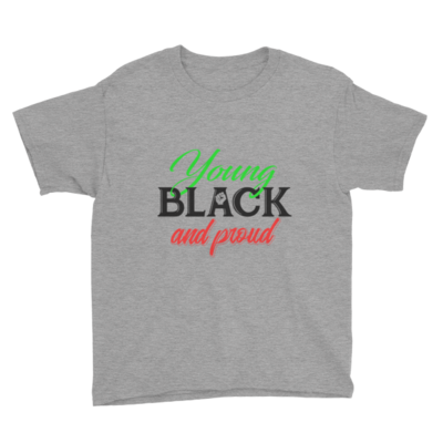 Young Black and Proud Youth Tee