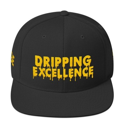 Dripping Excellence Snapback Hat