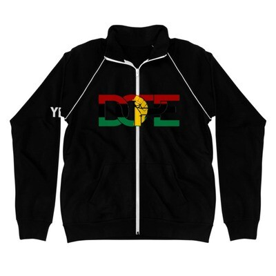 Pan African DOPE Piped Fleece Jacket
