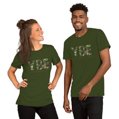 Camo Short-Sleeve Unisex T-Shirt