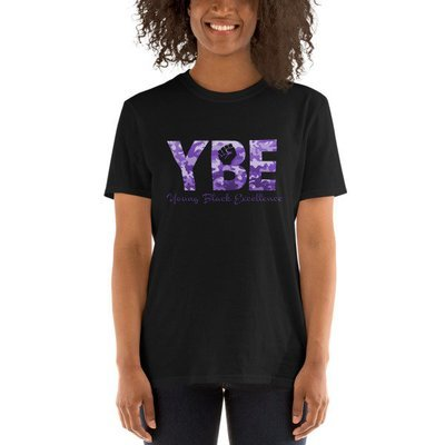 Purple Camo Short-Sleeve T-Shirt