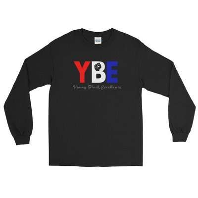 American Flag YBE Long Sleeve T-Shirt