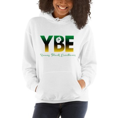 Jamaican Flag Hooded Sweatshirt