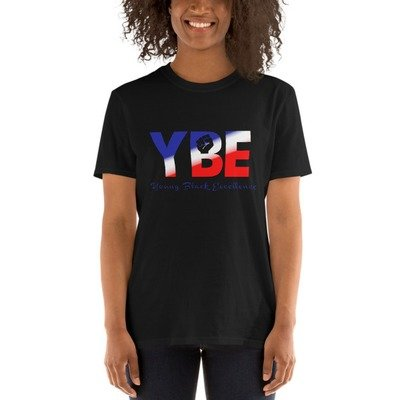 American Flag Short-Sleeve Unisex T-Shirt