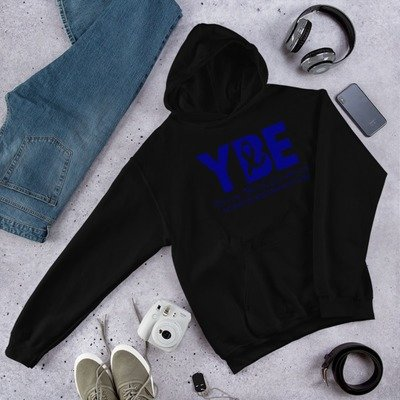 Colon Cancer Ribbon Hooded Sweatshirt