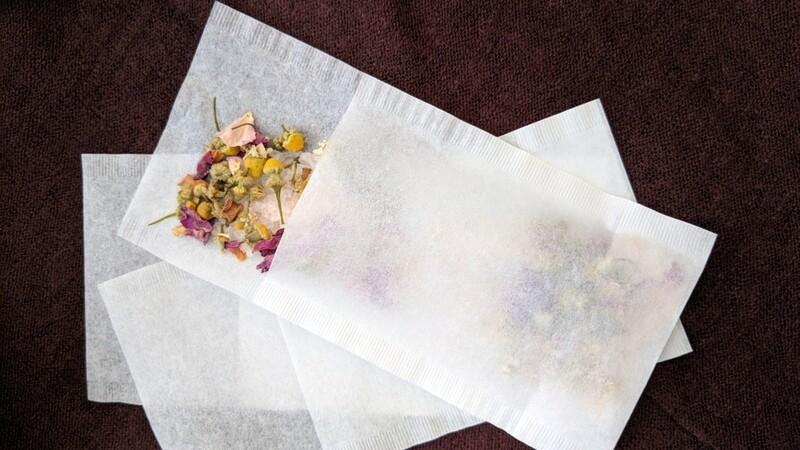Chamomile Rose Bath Tea (2 Bag Set)