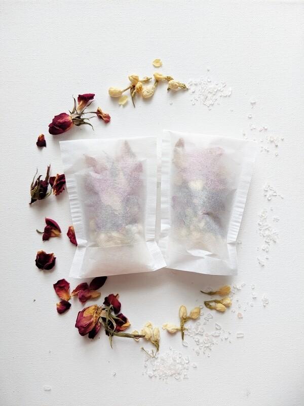 Jasmine Rose Bath Tea